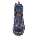 Bota Trekking Albarus nas cores Preto e Azul.