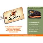 Tênis Azimute Brasil 5003 Casual em Couro Gelo / Azul