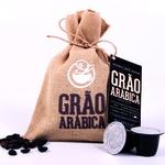Café Grão Arábica em Cápsulas - Torra Média - 10 und. de 50g - compatíveis com Sistema Nespresso®
