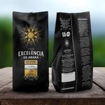 Café Excelência - de Araxá - Café Gourmet Moagem Média 250g