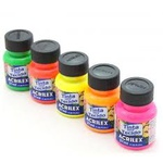 Tinta Para Tecido Acrilex Fluorescente 37 ml.
