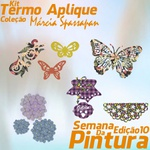 Kit Termo Aplique Coleção Márcia Spassapan | Semana Da Pintura - Edição 10