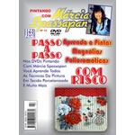 DVD Pintando Com Marcia Spassapan Edição Nº12 - Magnolias Policromaticas + Projeto