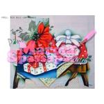 Projeto para Pintura com Foto e Risco Natal Proj. N14 - Bule com Flores