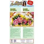 Kit Pano de Copa Márcia Spassapan Floral Mod. 41