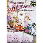 DVD DUPLO Coleção Pinceladas Mágicas Edição 5 com Apostila Porquinhas