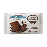 Caixa Tablete Chocolate Zero Açúcar