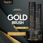 Kit Home Care Gold Brush Duetto