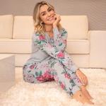 23230 - Pijama de inverno em malha. - Estampado