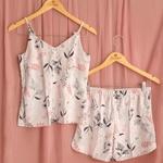 22720 - Pijama de verão curto. - Estampado