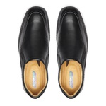 Sapato Social masculino DUO COMFORT Francajel Preto