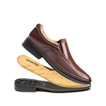 Sapato Social masculino DUO COMFORT Francajel Bourbon
