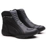 Bota Coturno Motociclista Gogowear 100% Couro ref XT 1003 Motor cor Preto