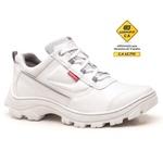 Bota Segurança EPI CA Gogowear 100% Microfibra ref Boxer cor Branco