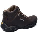 Bota Adventure Gogowear 100% Couro ref Everest cor Cafe