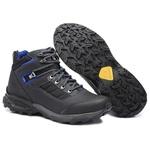 Bota Coturno Adventure Gogowear 100% Couro ref Field cor Preto