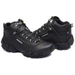Bota Adventure Gogowear 100% Couro ref Everest cor Preto