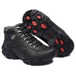 Bota Coturno Adventure Gogowear 100% Couro ref Sprint cor Preto