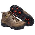 Bota Coturno Adventure Gogowear 100% Couro ref Euro Sprint cor Musgo
