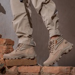 Bota Coturno Segurança EPI CA Gogowear 100% Couro ref Picker cor Areia