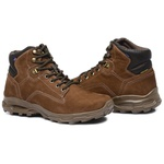 Bota Coturno Adventure Gogowear 100% Couro ref Trail cor Cravo