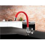 Torneira Cozinha Flexivel Vermelha 1177 R27 Lorenzetti