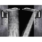 Chuveiro Lorenzetti Acqua Duo Flex preto/cromado 127V 5500