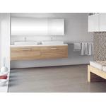 Azulejo Portinari 29,1X87,7 White Plain Lux A M²