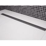 Ralo Linear Royal p/ banheiros Tampa inox 100cm