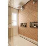 Ralo Linear Royal p/banheiro Tampa Inox 90 cm