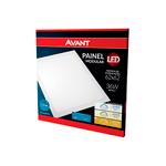 PAINEL LED AVANT MOD EM/P 45W BIV 6500K BR 625X625