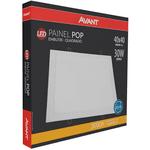 LED Painel Pop de Embutir Quadrado Avant 30W Bivolt
