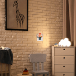 Luminária Luz Noturna Led de Tomada Serena 3000K - Avant