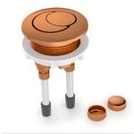 Botão de acionamento Rose Gold Caixa Acoplada Roca/Incepa