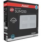 Refletor Slim LED 200W 6500K Bivolt 259701370 - Avant