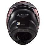 CAPACETE LS2 FF327 CHALLENGER MAGIC WINEBERRY/BLACK