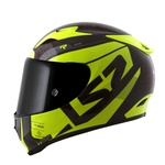 CAPACETE LS2 ARROW STING WINEBERRY/H-V YLM