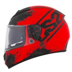 CAPACETE LS2 VECTOR SQUASH MATTE ORANGE/BLACK