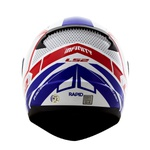 CAPACETE LS2 RAPID INFINITY WHITE/RED/BLUE