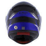 CAPACETE LS2 RAPID GROW BLK/SILVER/BLUE