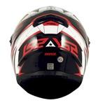 CAPACETE LS2 CLASSIC DRAZE BLACK/WHITE/RED