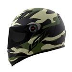 CAPACETE LS2 CLASSIC ARMY MATT BLK/MILIT. GREEN