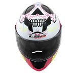 CAPACETE LS2 STREAM COUTURE WHITE/PINK