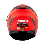CAPACETE LS2 STREAM HUNTER MATTE ORANGE/BLACK