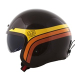 CAPACETE LS2 SPITFIRE SUNRISE BROWN/YELLOW