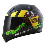 CAPACETE NORISK STUNT FF391 SPEED DRINK GREY