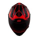 CAPACETE NORISK STUNT FF391 CUTTING BLACK/RED
