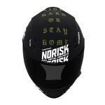 CAPACETE NORISK STUNT FF391 RIDE HARD BLACK/GREEN CAMO