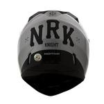 CAPACETE NORISK STUNT FF391 KNIGHT BLACK/SILVER