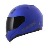 CAPACETE NORISK STUNT FF391 MONOCOLOR MATT BLUE